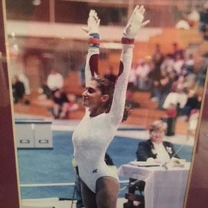 Lianne Laing, Gymnast