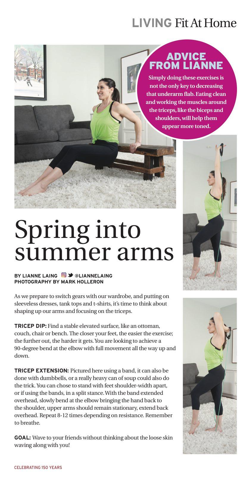 Spring into summer arms