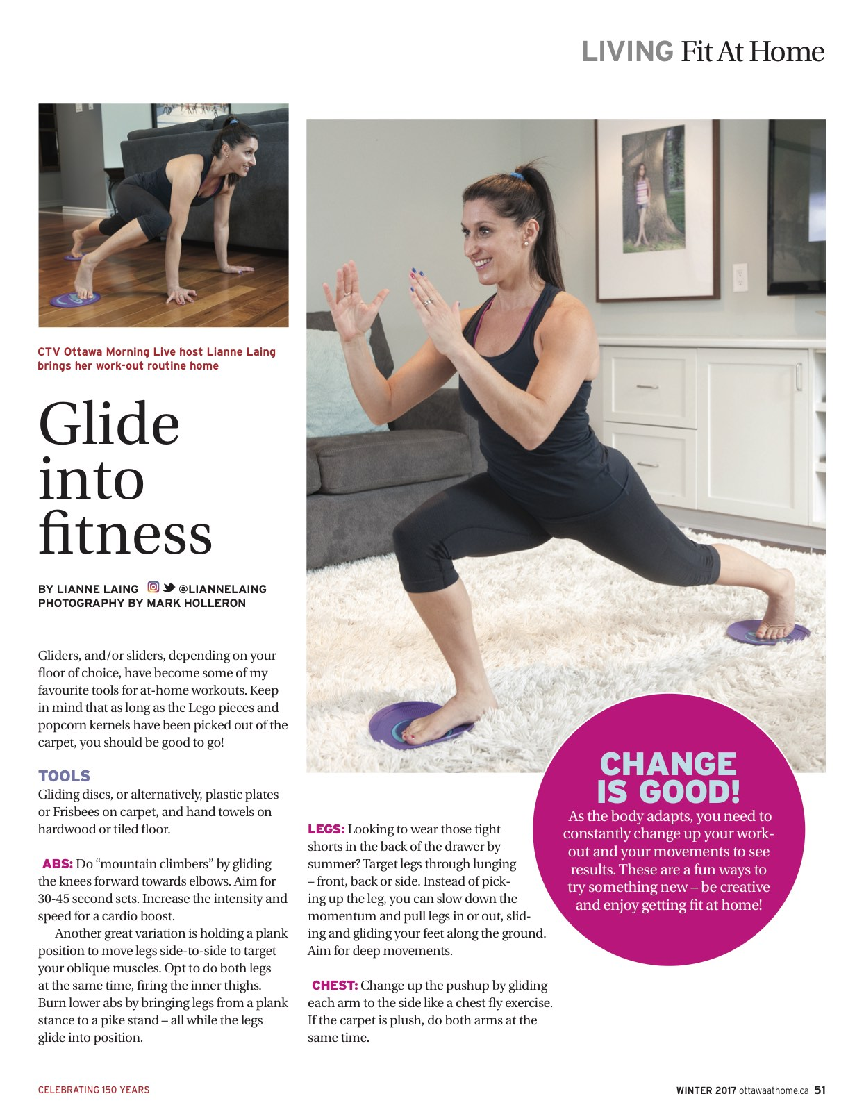 Glide into fitness